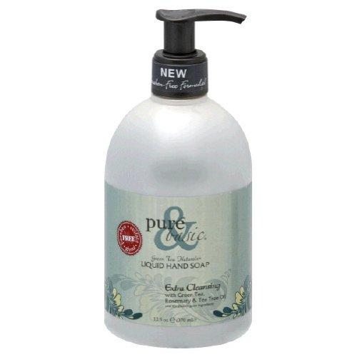 Pure & Basic, LIQUID HAND SOAP EXTRA CLEANSING - 12.5 OZ Basic Natural Bath