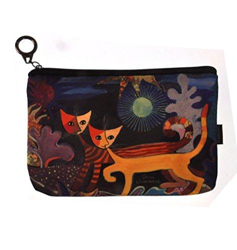 Wonderland - Two Cats Mini Zipper Purse designed by Rosina Wachtmeister