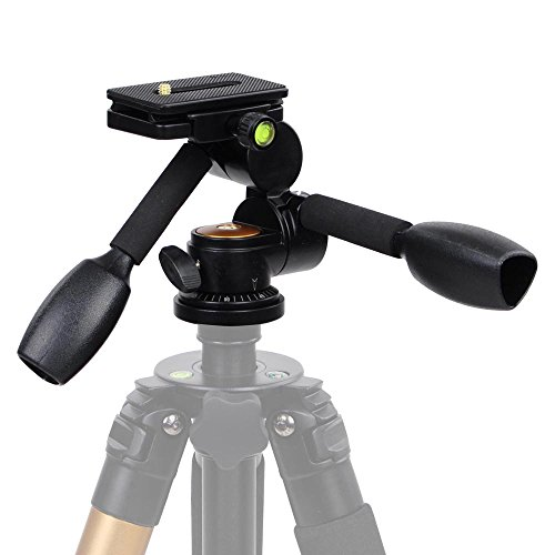 AW-Adjustable-360-Degree-Swivel-Ball-HeadDouble-Handle-Quick-Release-Plate-For-Tripod-DSLR-Camera-22LB