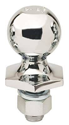 "Reese Towpower 72802 Chrome Interlock 2"" Hitch Ball"