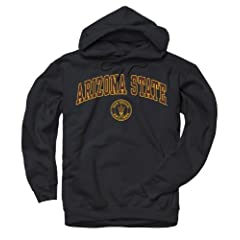 Buy Arizona State Sun Devils Adult Arch and Ring Hooded Sweatshirt by Unknown