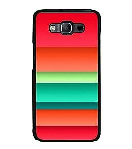 Printvisa Ultra Colourful Layer Pattern 2D Hard Polycarbonate Designer Back Case Cover for Sa...