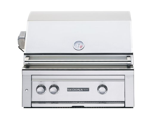 Lynx Sedona L500 Collection L500PSNGCART 30 Built-In Natural Gas Grill w/1 ProSear & 1 Stainless T