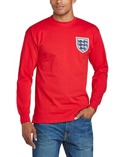 Score Draw Longsleeve England 1966 World Cup Final Away [Bianco]