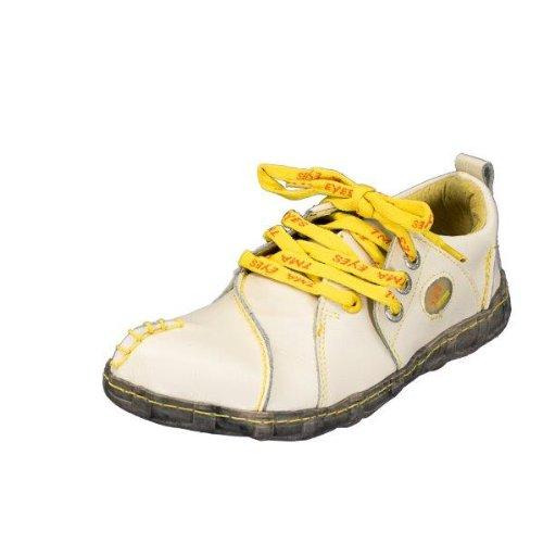 TMA EYES 2610 Schnürer Gr.36-42 mit bequemen perforiertem Fußbett , Leder 39.35 super leichter Schuh der neuen Saison. ATMUNGSAKTIV in Weiss, Grün, Weiß, Rot oder Schwarz