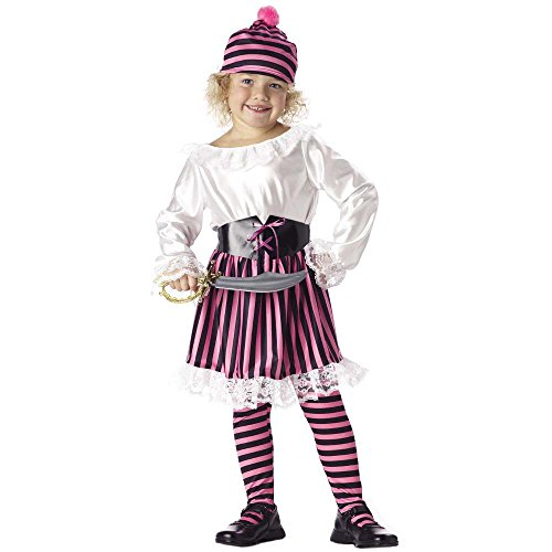 Child's Toddler Little Girl Pirate Halloween Costume (2-4T)