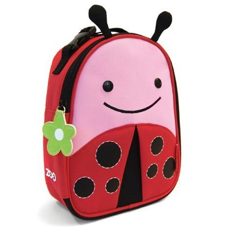 Game / Play Skip Hop Zoo Lunchies Insulated Lunch Bags - Ladybug. Bags, Thermal, Cooler, Mesh, Pack, Animals Toy / Child / Kid