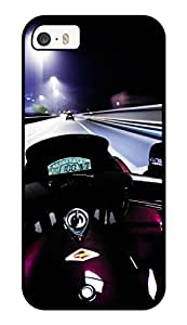 """Humor Gang Bike Racing Printed Designer Mobile Back Cover For """"Apple Iphone 5-5s"""" (3D, Glossy, Premium Quality Snap On Case)"""