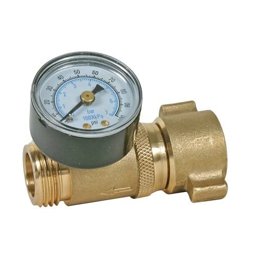 camco water pressure regulator with gauge dont. Black Bedroom Furniture Sets. Home Design Ideas