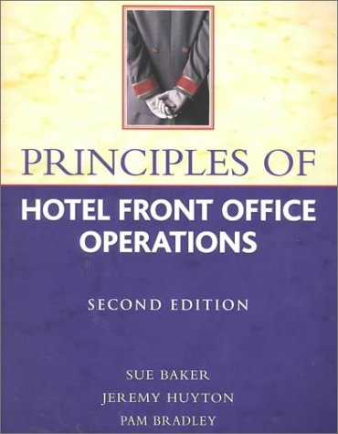 Principles of Hotel Front Office Operations (Tourism & Hospitality)
