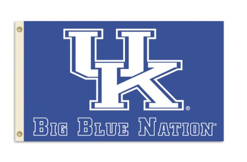 NCAA Kentucky Wildcats 3-by-5 Foot Nation Flag With Grommets at Amazon.com