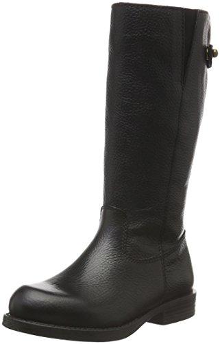 UnisaGAGA_CEV - Stivali alti con imbottitura leggera Bambina , Nero (Nero (nero)), 35