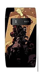 UPPER CASE™ Fashion Mobile Skin Decal For Nokia Microsoft X7 [Electronics]