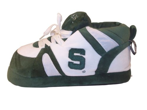 Happy Feet - Michigan State Spartans - Slippers - XL at Amazon.com