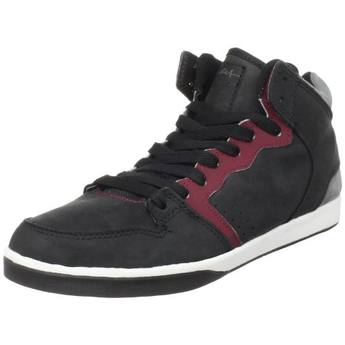 C1RCA Men's 99 Slim Black/Red/Pewter Trainer 99SLIM 12 UK
