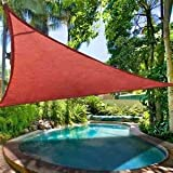 San Diego Shade Sail 18' Triangle - Terracotta Rust