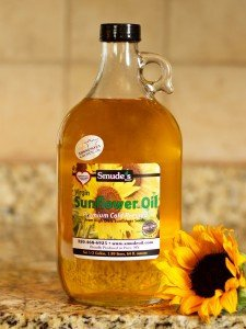 Half Gallon Cold Pressed High Oleic Sunflower Oil