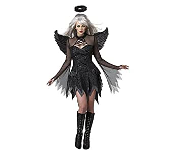 Luk Oil Sexy Role-playing Apparel Black White Angel Devil Costumes