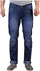 D2NINE Men's Slim Fit Jeans (D2NINE-BL-_Blue_28)