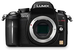 Panasonic Lumix DMC-GH2 16.05 MP Live MOS Interchangeable Lens Camera with 3-Inch Free-Angle Touch Screen LCD [Body Only] (Black)