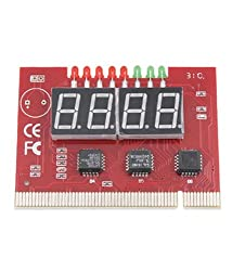 Moelissa PC 4 Digit Diagnostic Analyzer Card Motherboard Tester