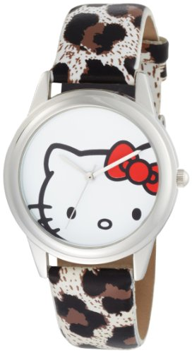 Hello Kitty Women's H3WL1003WT White Dial Watch
