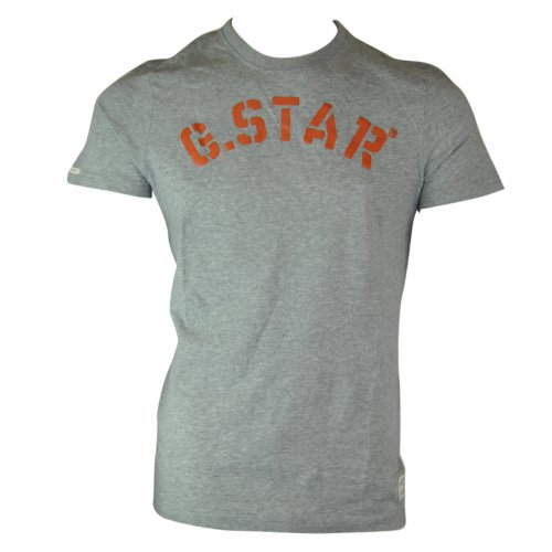 G-Star Raw Mens Louis R T Short Sleeved Tee T-Shirt - grey - xxlarge