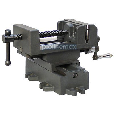 2 Way 4'' Drill Press X-Y Compound Vise Cross Over Slide Mill Drill Press Table (Drill Press Mill Table compare prices)