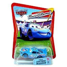Disney / Pixar CARS Movie 1:55 Die Cast Race-O-Rama Package Dinoco Lightning McQueen