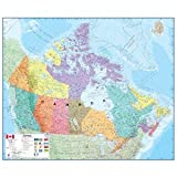 Canada Laminated Wall Map