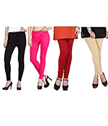 Shiva collections Black/pink/red/skin cotton legging