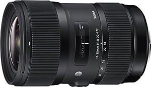 Sigma 18-35mm F1.8 DC HSM Lens (Black)