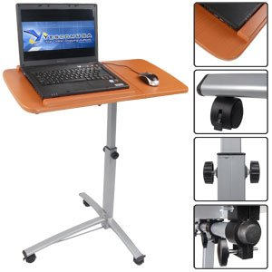 LAPTOP COMPUTER NOTEBOOK DESK TABLE STAND CART MOBILE