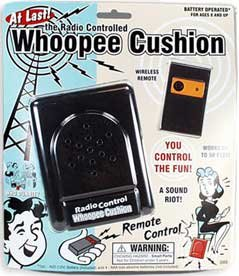 Radio Control Whoopee Cushion - Fart Machine