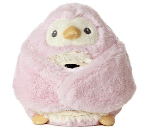 "Aurora World Peek-A-Boo Pink Penguin 6.5"" Plush - 1"