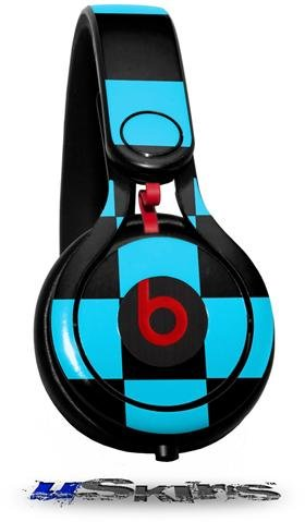 Checkers Blue Decal Style Skin (Fits Genuine Beats Mixr Headphones - Headphones Not Included)
