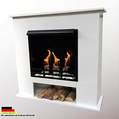 Ethanol-und-Gelkamin-Kamin-Modell-001-inkl-27-teil-Set-Farbwahl-Weiss