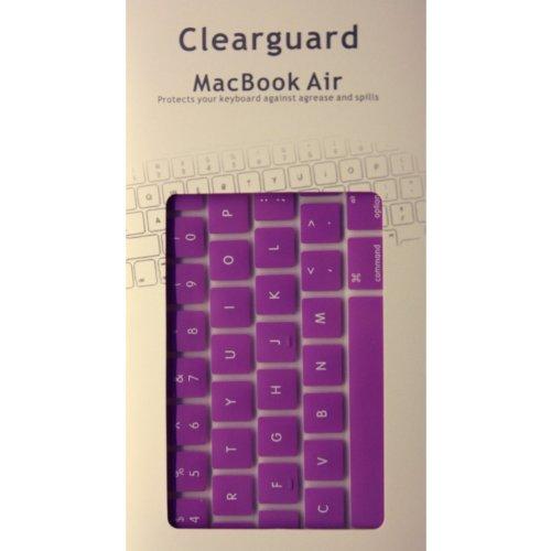 "Ezmarket Macbook Air 11"" Unibody Purple Silicone Skin Cover"