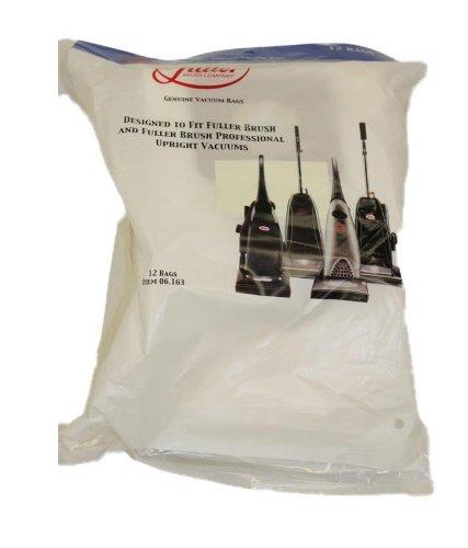 Fuller Brush 06.163 Upright All Models Bags - Genuine - 12 Pack