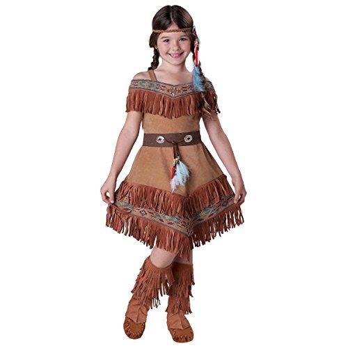 GSG Indian Costume Kids Princess Pocahontas Halloween Fancy Dress (Pocahontas Dress Up)