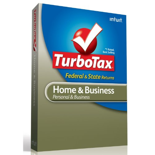 TurboTax Home and Business Fed + E-File + State 2012
