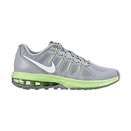 Nike Air Max Dynasty Boys Athletic Shoe (7 Big Kid M, WLF GREY/WHITE-VLTG GRN-CL GRY)