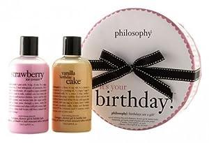 it's your birthday!   shower gel gift set   philosophy 2 pc.