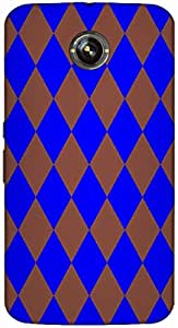 Timpax protective Armor Hard Bumper Back Case Cover. Multicolor printed on 3 Dimensional case with latest & finest graphic design art. Compatible with Google Nexus-6 Design No : TDZ-22118