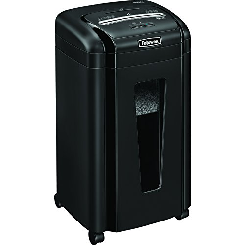 Fellowes 460Ms 10-Sheet Micro-Cut Shredder with SafeSense (Disable Auto R compare prices)