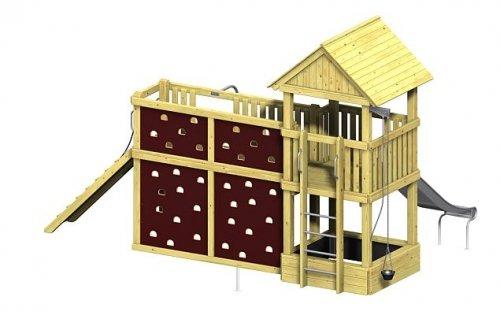 Spielturm Winnetoo Pro Variation 6 - öffentliche Spielanlagen