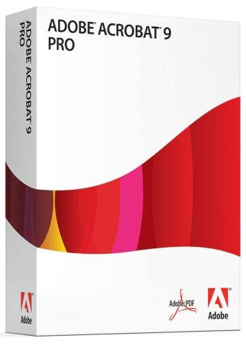 Adobe Acrobat Professional 9 Upgrade from Acrobat Pro [OLD VERSION]