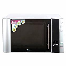 Godrej InstaCook GMX 30 CA1 SIM 30-Litre Convection Microwave Oven (Silver)