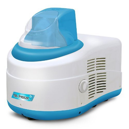 Mr Freeze EIM-550 Ice Cream Maker with Compressor, 1.5-Quart, Blue
