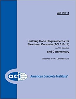 Aci 318 11 Building Code Requirements For Structural